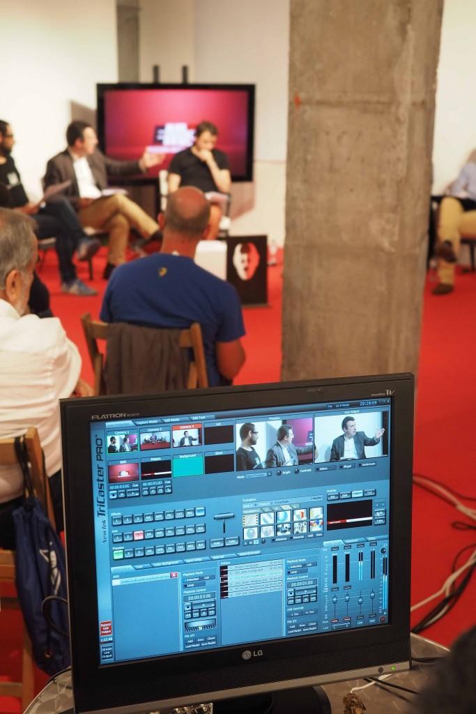 14/05/15 Debat de Polítiques Culturals a l'espai El Puntal en el marc de les Eleccions Municipals organitzat per la Fundació Lluís Coromina i Banyoles Televisió. Foto: Pere Duran