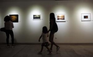 05/09/15 Inaguració exposició La Lentitut del col.lectiu Fotogènica a l'espai Eat Art de Banyoles. FOTO: PERE DURAN