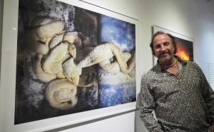 02/10/15 Inauguració de la exposició Farina Blana, fotografies de Tino Soriano al l'espai Eat Art de Banyoles. Foto:Pere Duran