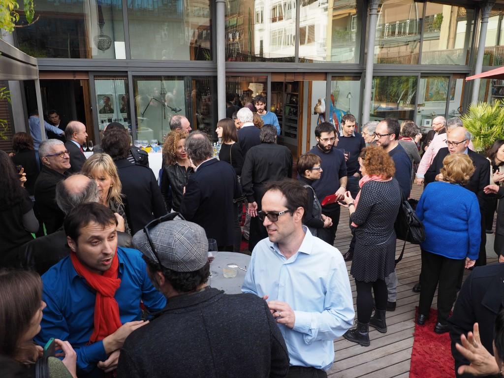 Trobada anual d'amics i col.laboradors de la Fundació Lluis Coromina i la revista Bonart a Barcelona. FOTO: PERE DURAN