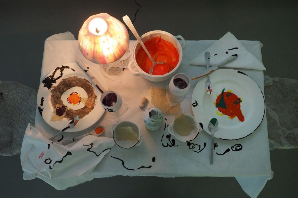 Instal.laci— El Paper de la taula a l'Espai Eat Art en el marc de la fira Gastromia