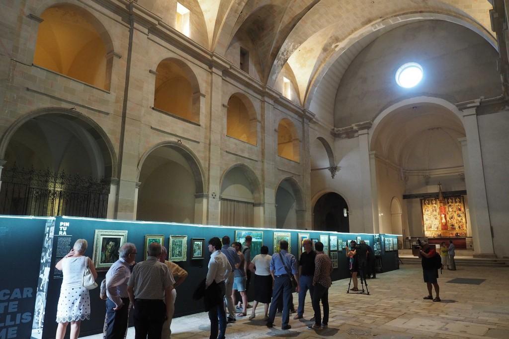 Exposició L Aventura Artística de Carles Fontserè, al Monastir de Sant Esteve de Banyoles. PERE DURAN / NORD MEDIA