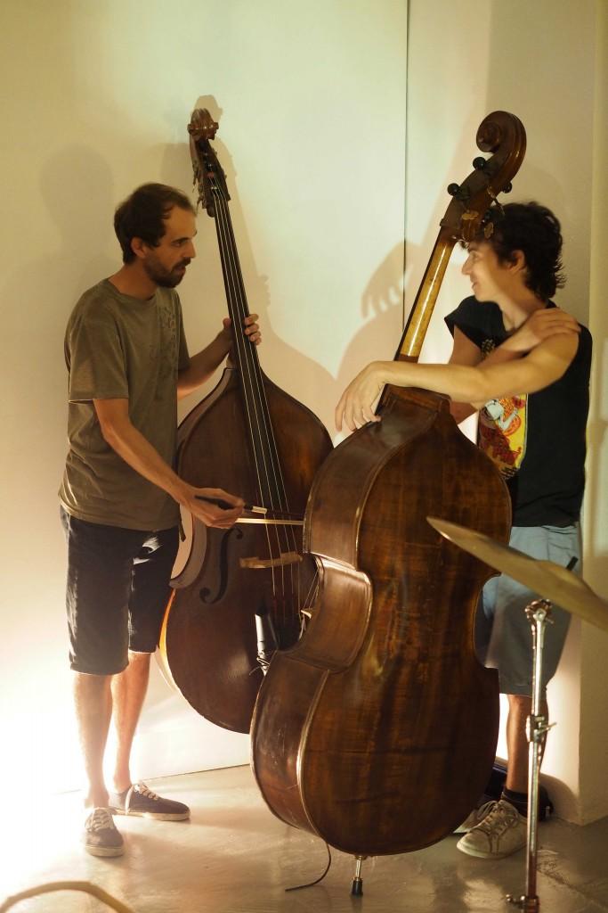 Concert Free Art Ensemble a l'espai Eat Art de Banyoles. FOTO: PERE DURAN
