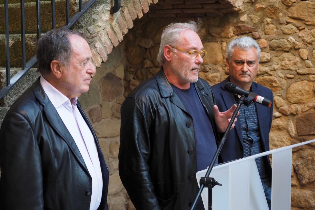 Exposició Absolut de Lluís Vilà al Castell de Benidormients de Castell d'Aro. PERE DURAN / NORD MEDIA